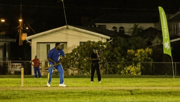 20/20 Cricket Match at Passage Road Playing Field