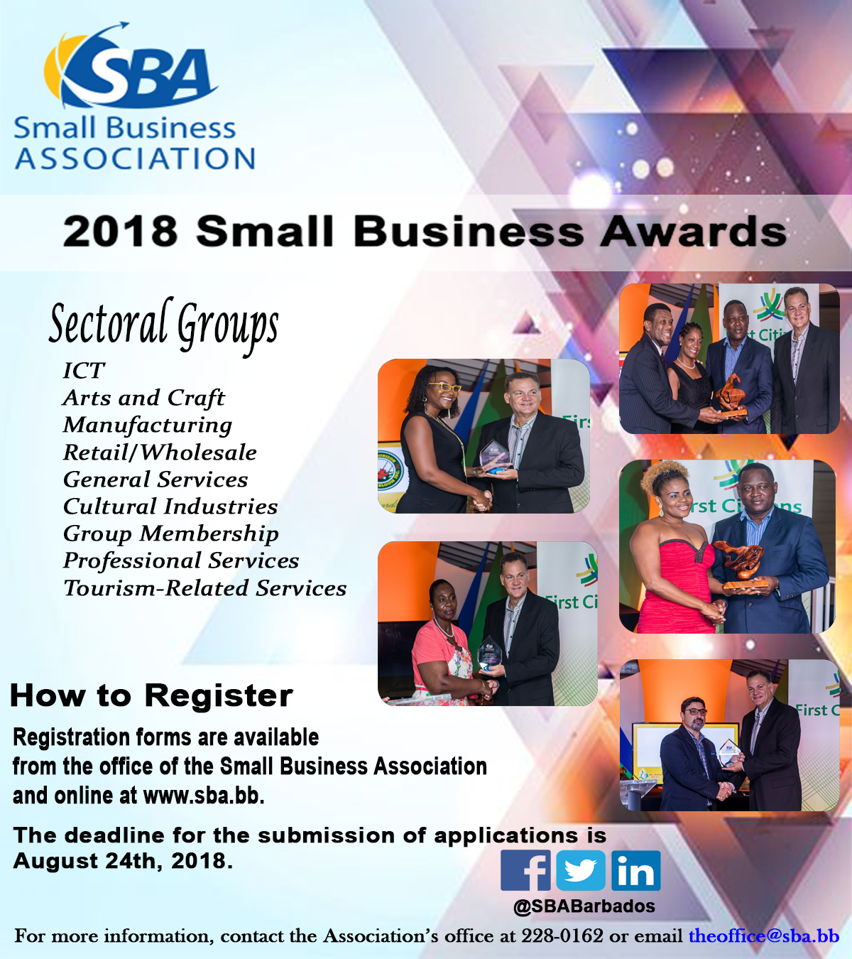 SBW 2018 Awards Flier